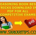 Reasoning Book Best Tricks Download