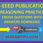 X-EEED Publication Reasoning Practice EBook Questions with Answers Download