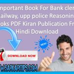 Important Book Bank clerk Reasoning Books Hindi PDF