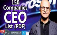 Top Companies CEO Names