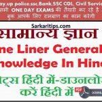 Gk today Hindi Important