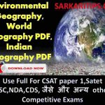 Environmental Geography English Book Download PDF