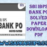 SBI IBPS Bank PO Solved Paper Download PDF