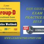 RRB Group D Mock Test Exam Practice set 2018