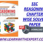 SSC Reasoning Chapter wise Solved Paper