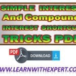 Compound Interest & Simple Interest PDF Book