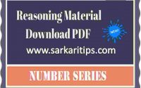 Number Series Questions pdf 150+ With Tricky Detailed Solution