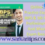 Online Practice Exam IBPS & SBI PO Preliminary And Main Exam Book