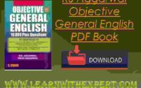 RS Aggarwal Objective General English PDF Book