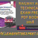 Railway ALP Technical Exam Free PDF Book 2018