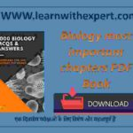 Biology most important chapters PDF Book