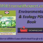Environmental & Ecology PDF Book