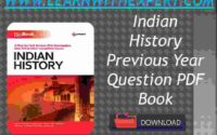 Indian History Previous Year Question PDF Book