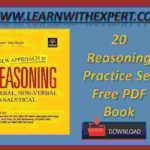 20 Reasoning Practice Set Free PDF Book