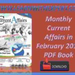 Monthly Current Affairs in February 2019 PDF Book