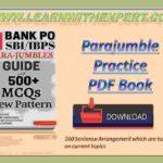Parajumble Practice PDF Book
