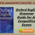 Oxford English Grammar Guide For All Competitive Exams