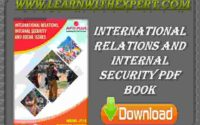 International Relations And Internal Security PDF Book