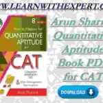 Arun Sharma Quantitative Aptitude Book PDF for CAT