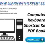 Computer Keyboard Shortcut Keys PDF Book