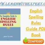 English Spelling Rules Guide PDF Book
