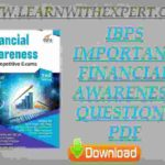 IBPS Important Financial Awareness Questions PDF