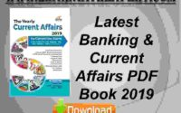 Latest Banking & Current Affairs PDF Book 2019