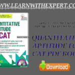 Quantitative Aptitude for CAT PDF Book