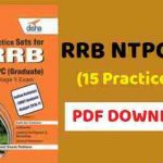 RRB NTPC Practice Book PDF Free Download 2019
