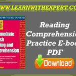 Reading Comprehension Practice E-book PDF