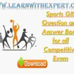 Sports GK Question and Answer Book for all Competitive Exam