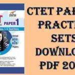CTET Practice Set 2019 PDF Book