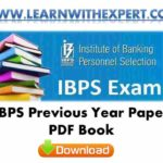 IBPS Previous Year Paper PDF Book