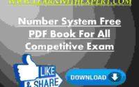 Number System संख्या पद्धति Free PDF Book