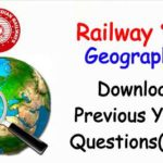 Railway NTPC & Group D Geography Question PDF Book