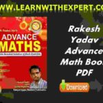 Rakesh Yadav Advance Maths Free PDF Book