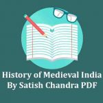Medieval History By Satish Chandra PDF Book Download
