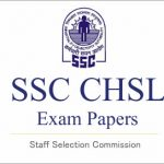 SSC CHSL Previous Year Question Paper PDF Book Download