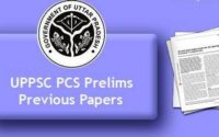 UPPSC Prelims & Mains Exam Previous Year Question Paper