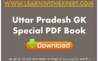 Uttar Pradesh GK Special PDF Book