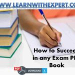 How to Succeed in any Exam PDF Book