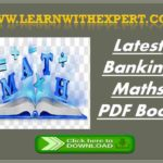 Latest Banking Maths PDF Book