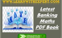Latest Banking Maths PDF Book