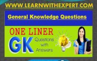 Most Important One Liner Questions and Answers