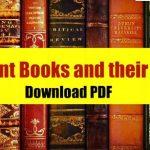 Books And Authors GK प्रमुख लेखक एवं उनके रचनाएँ