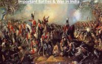 Important Battles & War In India