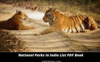 National Parks In India List PDF Book Download 2020