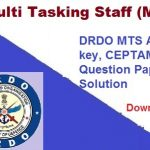 DRDO MTS Previous year Paper PDF Book