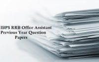 IBPS RRB Office Assistant Multipurpose Previous Year Paper
