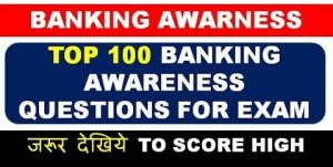 Banking Awareness One Liner Question Answer